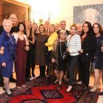 La Delegazione di Tel Aviv al gala in Ambasciata