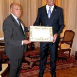 Ricevimento nella residenza dell'Ambasciatore d' Italia a Budapest.